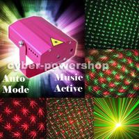 X'MAS Minute Adjustment Mini Laser Stage Disco Party DJ Light Disco DJ Club Party Stage lighting UK Plug