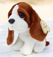 Lovely Dog Stuffed Plush Animal Toy  Little Basset Hound Dog Very Soft & Vivid & High Quality Cheap Sale