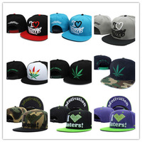 Cool Summer Hater Snapback Hat HUF Weed Baseball Cap High Quality Men Hat Cheap Price DGK Hat Wholesale