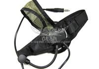 Z Tactical Selex TASC1 Headset with Military Standard Plug (BK)