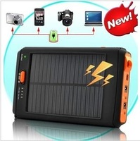 Mobile Bank 30000 solar battery large capacity power charger notebook mobile Solar PowerBANK Freeshipping
