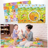 New! Baby Play Mat Family Picnic Carpet for Children Educational Toys Foam Baby Blanket 200*160cm