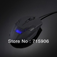 NEW 2000DPI Wired Optical Ergonomic 6 Buttons Scroll Wheel Gaming Laptop Mouse Mice free shipping