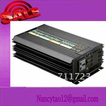 CE&ROHS Approved, DC12v 24v 48v-AC100v-120v 220v-240v, 3000w 3kw Pure Sine Wave solar Inverter