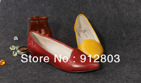 [ANYTIME] New arrival Popular Women's GENUINE LEATHER Flat Shoes, Ladies'  Pointed Toe Original Brand Casual  Leisure Flats