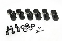 6R Black Auto lock string Electric Guitar Tuning Pegs Machine heads