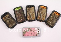 Hybrid pc+tpu shockproof protective combo camo case for samsung Galaxy S3 i9300,100pcs/lot Free shipping by DHL