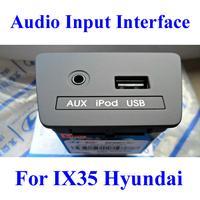 OEM Original Audio Input Interface For IX35 Hyundai Elantra Sonata Tucson AUX USB Interface 4S Shop Original Free HongKong Post