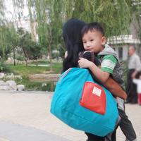 Storage mummy bags travel big bag baby folding shopping bag maternity infanticipate bag
