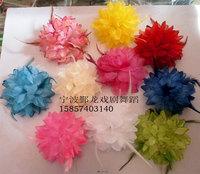 Dance costume bride flower corsage hair accessory wrist length flower hair accessory accessories