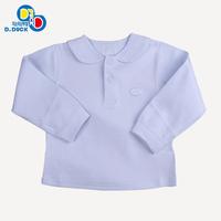 Duck organic cotton children's clothing spring and autumn child underwear 100% cotton baby top male child top sleepwear