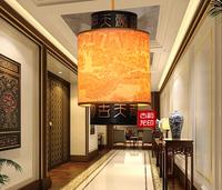 Chinese style classical faux pendant light antique lamps balcony entranceway lantern