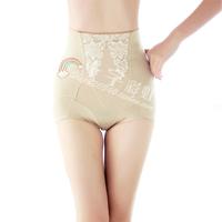 Milk silk ultra high waist abdomen fabric drawing pants reobtains panties female high waist abdomen pants drawing puerperal