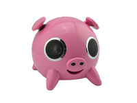 3.5mm Plug Hi-Fi Pig Panda Shaped Dock Touch Speaker ipag for iPhone iPod MP3 Player
