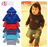 2013 New Autumn / Winter Baby coat &jacket/ long-sleeved T-shirt hoodies Stylish comfort Baby boys girls to wear Retail