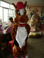 Adult sized horse animal Mascot Costume Adult Size Classic HOT SALE! Brand New EPE
