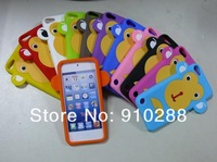 3D  big face monkey  Animal Silicone Case Cover for iPod Touch 5th Generation 5G PM4