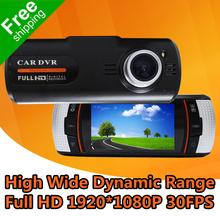 "Car DashCam DVR Camera LS650W With 2.7"" TFT LCD + Full HD 1920*1080P 30FPS + G-Sensor + Super Night Vision + Free Shipping(China (Mainland))"