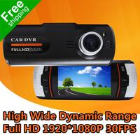 "Car DashCam DVR Camera LS650W With 2.7"" TFT LCD + Full HD 1920*1080P 30FPS + G-Sensor + Super Night Vision + Free Shipping"