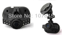"C600 super-mini Full HD car DVR. 1920*1080P,12PCS IR LED lights,1.5"" TFT LCD,4 times zoom,Free shipping"