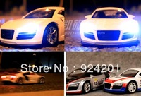 New arrival,High quality Professional 1:20 Car Model with Remote Control For AUDI,Radio Control Car,,free shipping