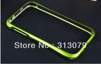 Colorful Cell Phone Bumpers metal paint small pretty waist protection shell for Samsung Galaxy S4 with EMS/dhl free shipping