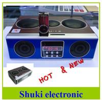 Mini Sound box MP3 player Mobile Speaker boombox FM Radio SD Card reader USB SU12