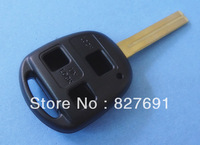 High quality Lexus 3 button remote key shell TOY48 blade  /Fob key case free shipping