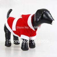 Free Ship Teddy Christmas Dog Clothing Coats Cotton Dog Jacket Sweater Clothes