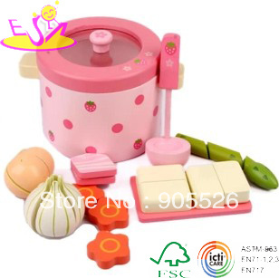 freeshipping!!!!!!!!!~~~High quality wooden toy play house strawberry vegetable fondue set