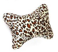Free Shipping Soft Leopard Stripe Hand Rest Cushion Pillow Nail Art Design Manicure Bone Shape