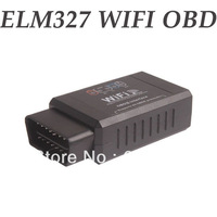 10pcs!!!  WIFI ELM327 WIFI OBDII Car Diagnostic Interface Scanner WIFI ELM 327 WIFI For IPhone IPad Free Shipping By DHL