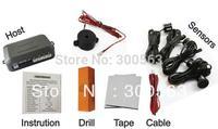 Free shipping 4 Sensors buzzer car parking sensor Car Parking Reverse Backup Radar System,parking assistance,3 colors