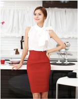 Elegant Womens Fitted Business Knee Long Slimming High Waist Pencil OL Skirt