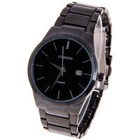 Curren calendar male tungsten steel stainless steel watches watch male watch box