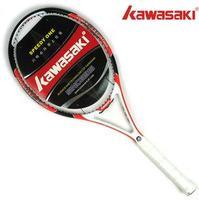 Kawasaki full carbon tennis racket tennis racket ultra-light shock absorber Free Shipping