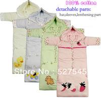 NEW autumn/winter thickening children's sleepsacks,detachable sleepsacks,sleep wear