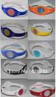 20pcs/lot Free Shipping Fashion Energy Power Silicone Wristband Bracelets with Hologram Wristband Band without retail box