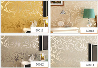 free shipping 5.3 square wallpaper modern PVC 3D 50014