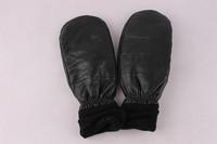 Men's fashion new leather mitten gloves 153