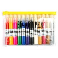 Multicolor Nail Art Pen Nail Brush 12pcs/lot