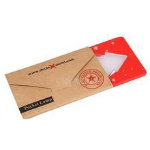 #Cu3 Pocket Folding Xmas Tree Shape LED Light Credit Card(China (Mainland))