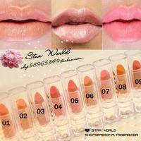 Sexy nude makeup nude color orange mini small-sample incarcerators lipstick