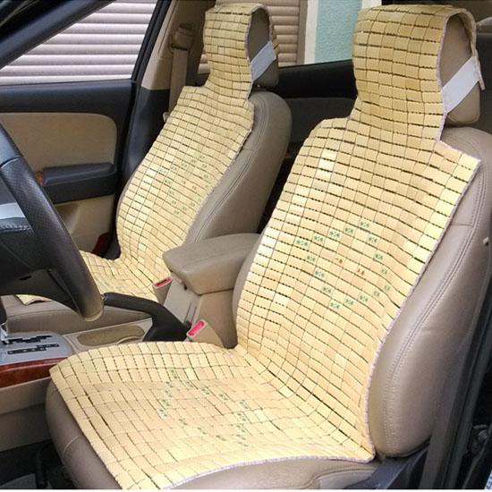Mahjong seats summer single loaded natural bamboo cool car seat sedan card truck back seat(China (Mainland))