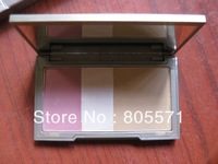 Free shipping ,6pcs  3colors makeup Flushed  blush  new  arrival.