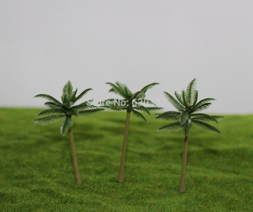 TDE70 Layout Model Train Palm Trees Scale N 7cm(China (Mainland))