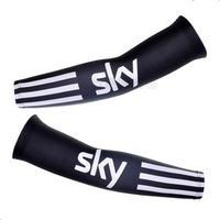 new SKY bike team cycling  Arm Warmers black outdoor bicycle sunproof Uv protection arm sleeves