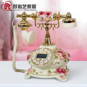 Antique telephone landline telephone fashion phone
