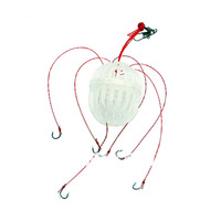 New Arrival Fishing Tackle  Sea Monsters with six strong fishing hook   3pcs/lot  Free shiping