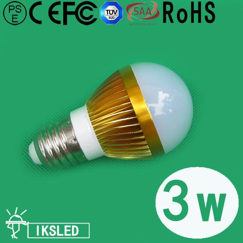 led bulbs e27 3W 350LM e27/e14 warm white/pure white lighting for the garden 30pcs/slot free shipping fedex led lights for home(China (Mainland))